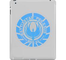 Battlestar Pegasus Logo iPad Case/Skin