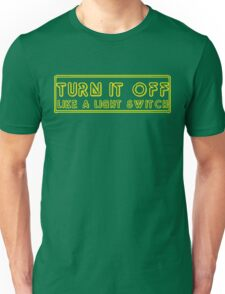 Turn It Off- Book Of Mormon Unisex T-Shirt