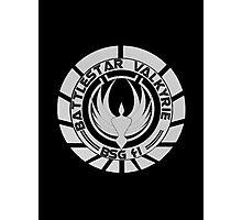 Battlestar Valkyrie Logo Photographic Print