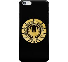 Battlestar Athena Golden Logo iPhone Case/Skin