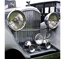 1935 3.5 Litre DERBY BENTLEY CLASSIC CAR Photographic Print