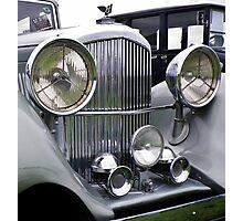 1935 3.5 Litre DERBY BENTLEY CLASSIC CAR Photographic Print