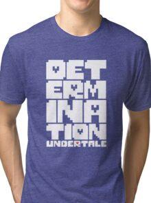 Undertale - Determination Tri-blend T-Shirt