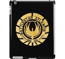 Battlestar Atlantis Golden Logo iPad Case/Skin