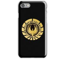Battlestar Celestial Golden Logo iPhone Case/Skin