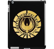 Battlestar Celestial Golden Logo iPad Case/Skin