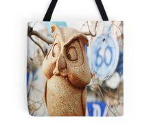 60th Owl Tote Bag