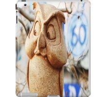 60th Owl iPad Case/Skin