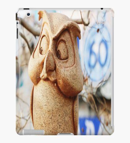60th Owl iPad Case/Skin