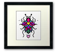 Flower Bug #1 Framed Print
