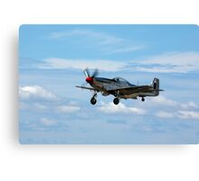 P-51D Mustang at POINT COOK RAAF AIR PAGEANT  Canvas Print