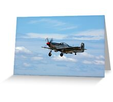 P-51D Mustang at POINT COOK RAAF AIR PAGEANT  Greeting Card