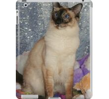 Topaz, A Balinese Cat, With Toys iPad Case/Skin