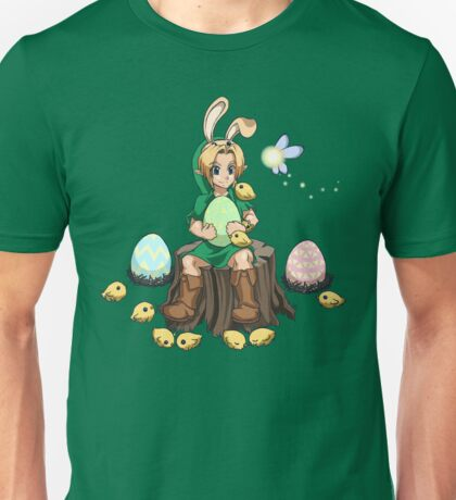 The Easter Bunny Hood Unisex T-Shirt