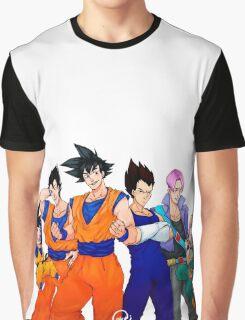 Super Saiyans Graphic T-Shirt