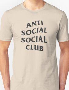 Anti Social Social Club - Black Unisex T-Shirt