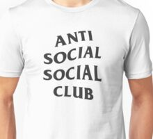 Anti Social Social Club - Black Unisex T-Shirt