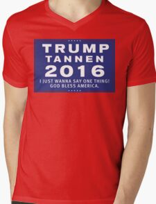 Trump/Tannen Ticket 2016 Mens V-Neck T-Shirt