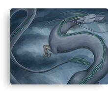 Haku the Dragon Canvas Print