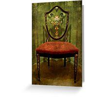 The Mirror Chair Greeting Card