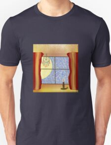 A Warm Winter Refuge - Dreamcatcher and Candle Flame Unisex T-Shirt