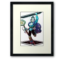 Space Witch Raddy Framed Print