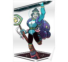 Space Witch Raddy Poster