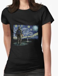 Starry Link Womens Fitted T-Shirt