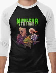 Nuclear Throne All Char Men's Baseball ¾ T-Shirt