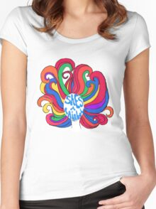 She's a Rainbow Women's Fitted Scoop T-Shirt