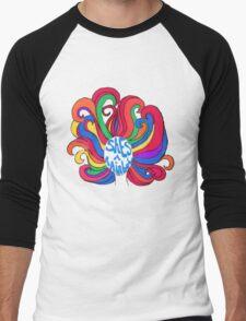 She's a Rainbow Men's Baseball ¾ T-Shirt