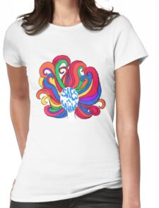 She's a Rainbow Womens Fitted T-Shirt