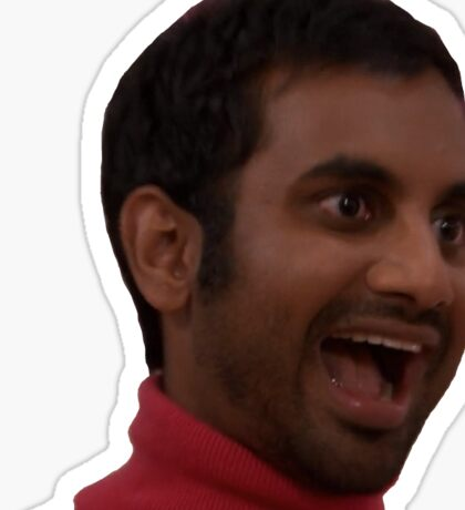 tom haverford Sticker