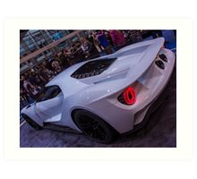 Ford GT in white Art Print