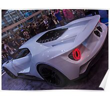 Ford GT in white Poster