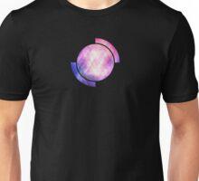 Soft Modern Fashion pink/purple/blueTexture (Soft light glass style - triangle - pattern edit) Unisex T-Shirt