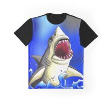 Shark Attack Graphic T-Shirt