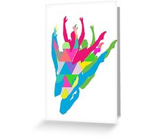 Color Me Ballet Greeting Card