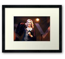 Olivia Newton-John in Concert Framed Print