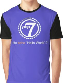 Php 7 Programming T-shirt - Unique Gift for Programmer Graphic T-Shirt