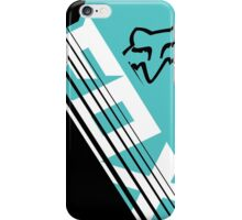 Savant blue green iPhone Case/Skin