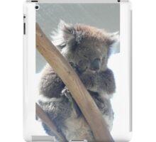 Koala sleeping iPad Case/Skin