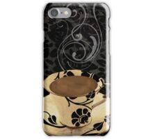 Cafe Noir Damask iPhone Case/Skin