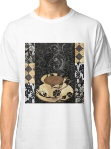 Cafe Noir Damask Classic T-Shirt