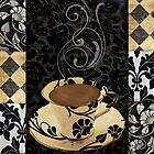 Cafe Noir Damask by mindydidit