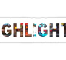 HIGHLIGHTS Sticker