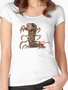 Donald Trump Centipede Women's Fitted Scoop T-Shirt