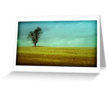 The Lonely Tree - lomo moment (2015) Greeting Card