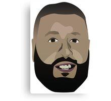DJ Khaled Vector Graphic Canvas Print