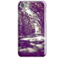 The Road Home - cross-processed (2015) iPhone Case/Skin